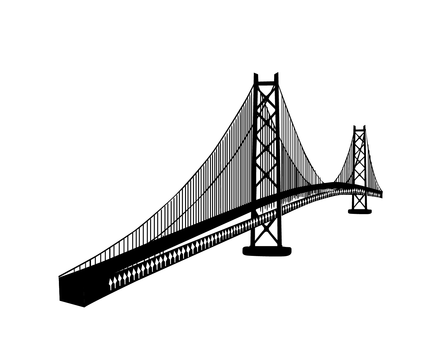 1513x1223 15 Vector Bridges Suspension Bridge For Free Download On Mbtskoudsalg