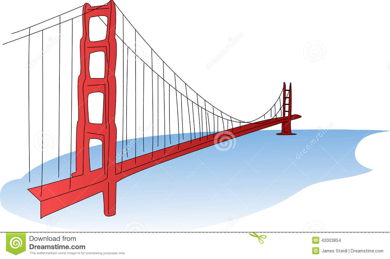 1300x863 Simple Golden Gate Bridge Clipart Amp Simple Golden Gate Bridge Clip