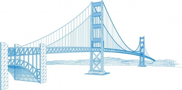 600x296 Bridge Free Vector Download (100 Free Vector) For Commercial Use