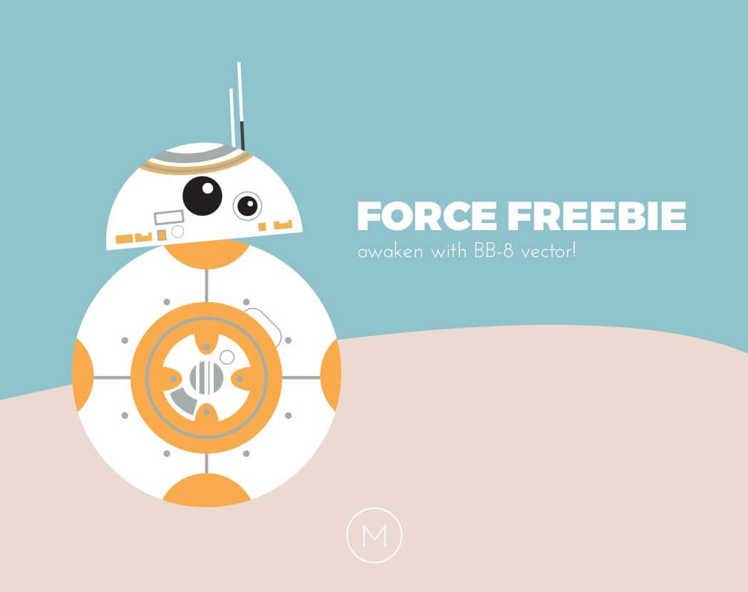 1050x831 Force Freebie! Free Bb 8 Vector! Gotham City Geek