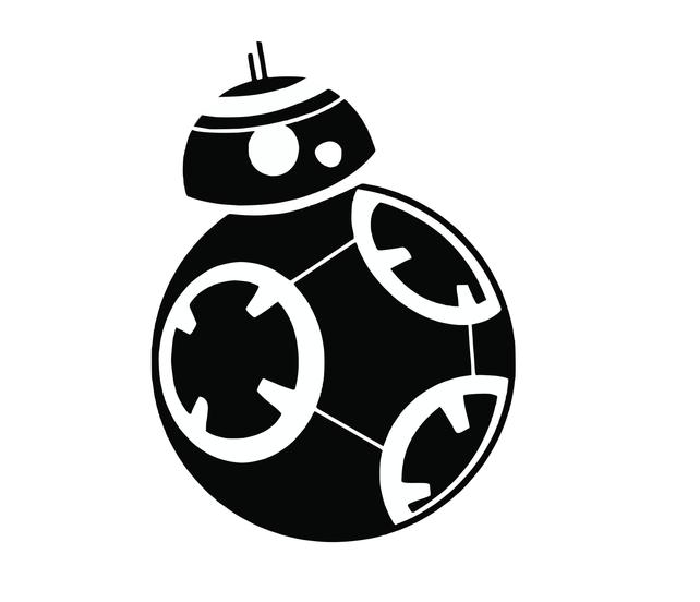 642x552 Star Wars Bb8 Svg Png Dxf Silhouette Vector File Etsy