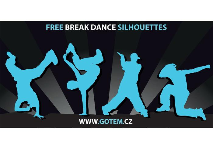 700x490 Breakdance Silhouettes