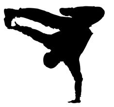 235x220 Breakdance Silhouettes Set3