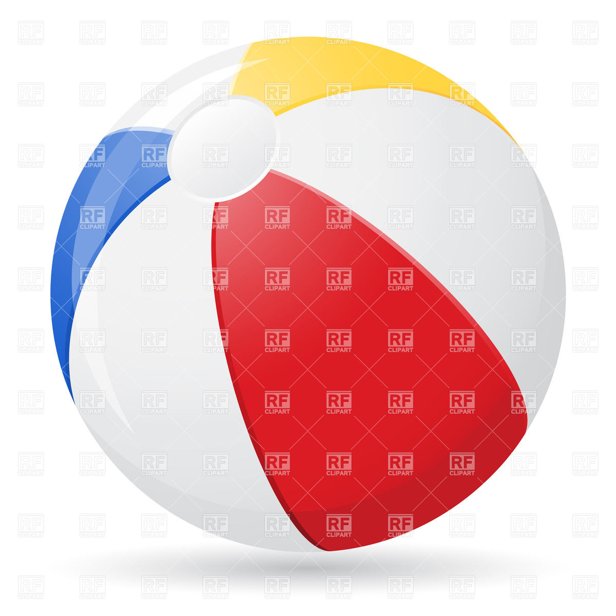 1200x1200 Beach Ball Vector Image Vector Artwork Of Sport And Leisure