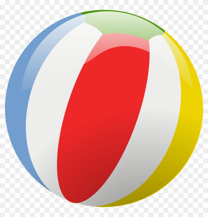 840x877 Beach Ball Vector
