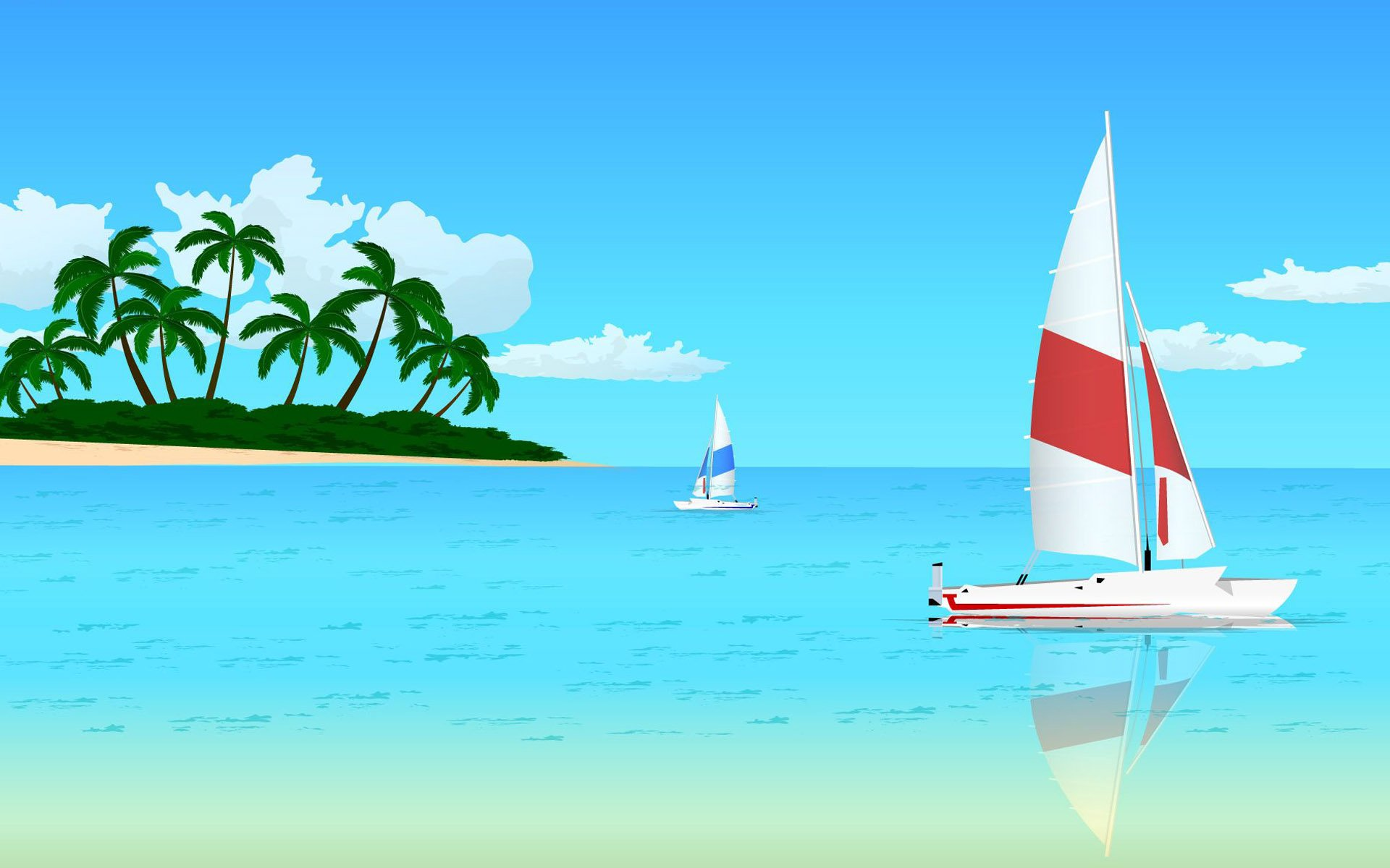 1920x1200 Beach Vector Wallpapers Top Hdq Beach Vector Images, Wallpapers