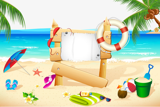 650x435 Vector Beach, Beach Vector, Beach, Vector Png And Vector For Free