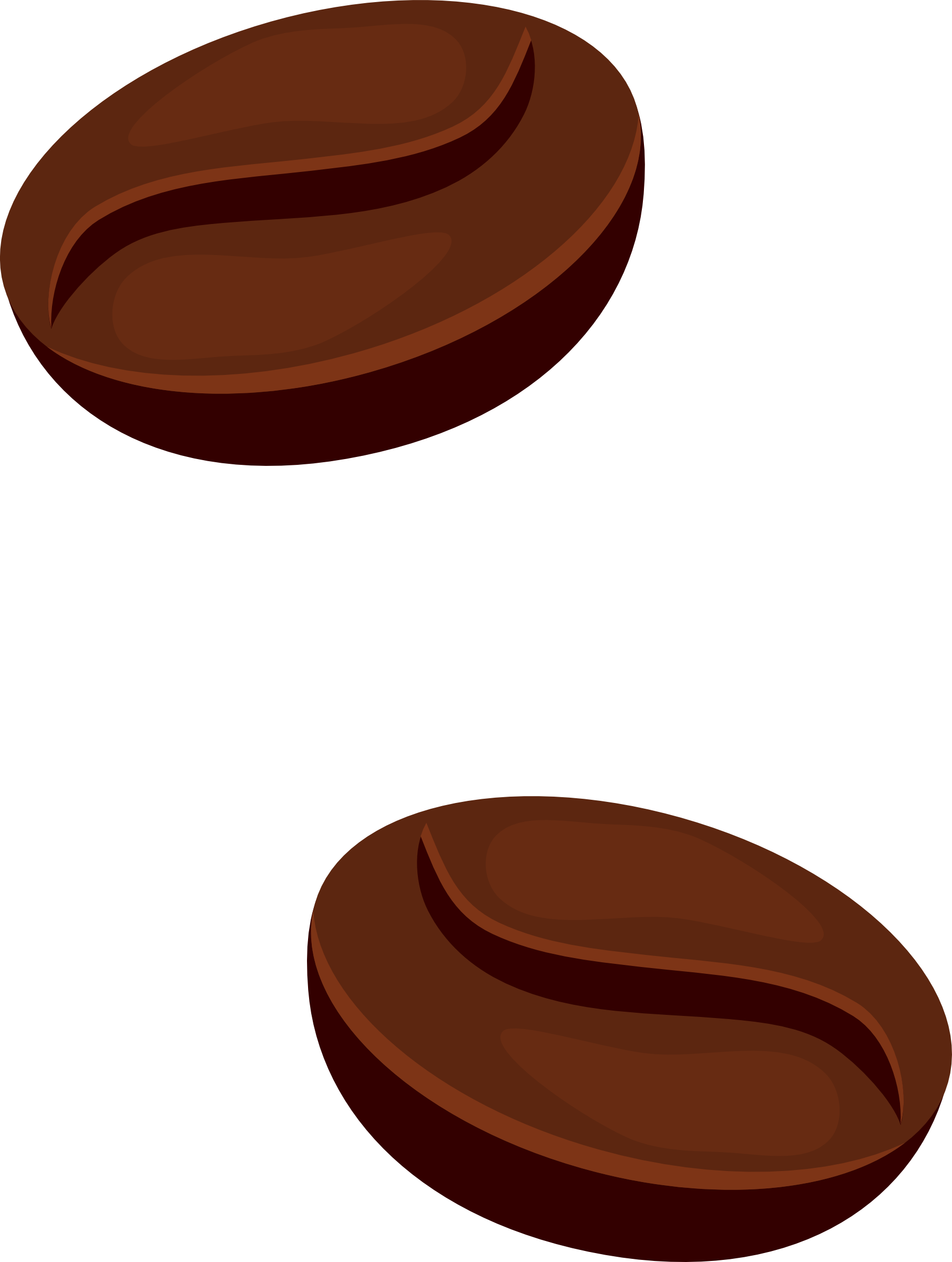 1811x2400 Coffee Bean Vector Clipart Best