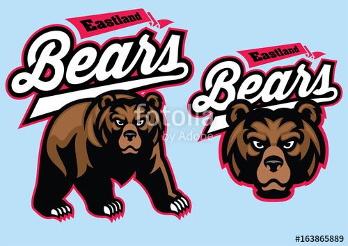 Bear Mascot Vector at GetDrawings com   Free for personal