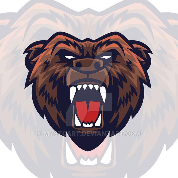 600x600 Bear Mascot Clipart Amp Bear Mascot Clip Art Images