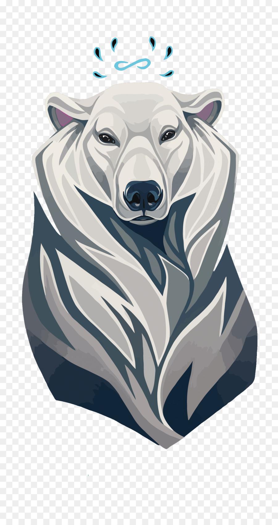 900x1700 Polar Bear