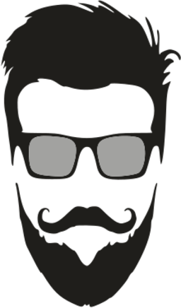 256x436 Collection Of Free Mustache Vector Beard Download On Ubisafe
