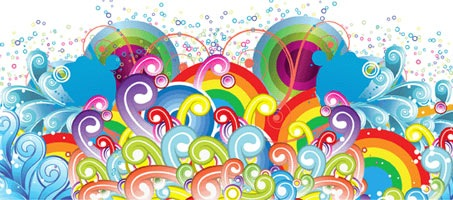 453x200 Free Beautiful Vector Backgrounds Amp Patterns