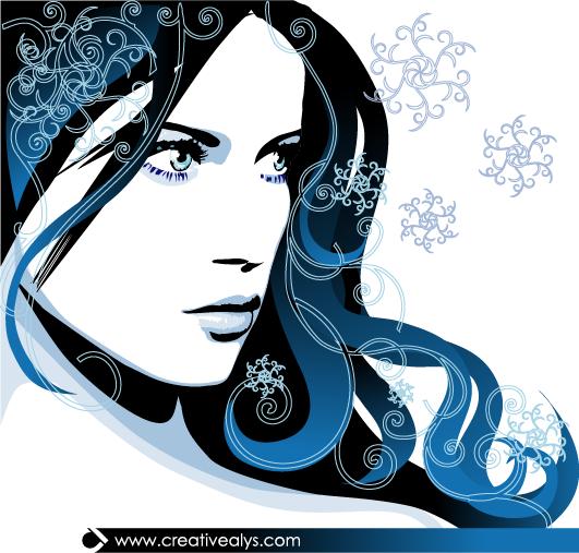 531x507 Beautiful Vector Artwork Creative Alys