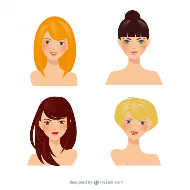 626x626 Beautiful Women Vector Free Download