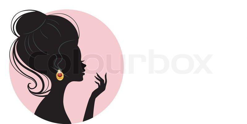 800x402 Vector Illustration Of Beautiful Woman Stock Vector Colourbox