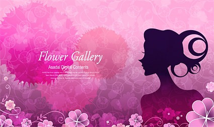 425x253 Flower And Beauty Vector Graphic 4 Graphic Hive