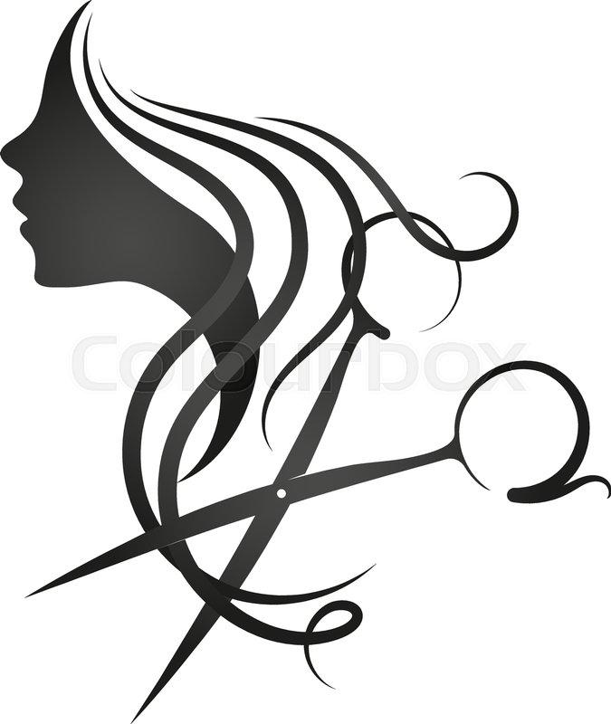 675x800 Hair, Salon, Scissors, Beauty, Vector, Comb, Barbershop, Woman