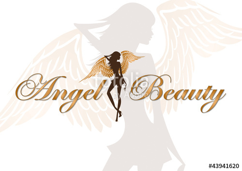 500x354 Angel Beauty Vector Logo Stock Image And Royalty Free Vector