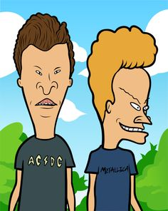 Beavis And Butthead Vector