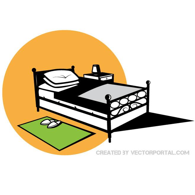 660x660 Bed Vector Graphics