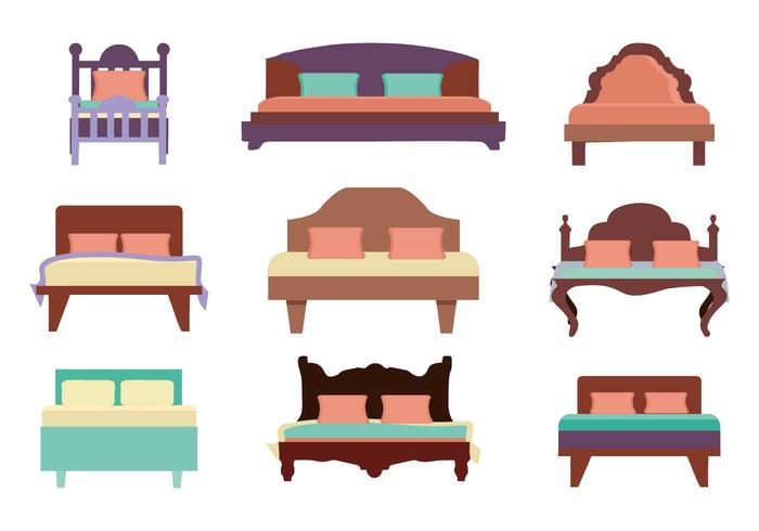700x490 Furniture Bed Vector
