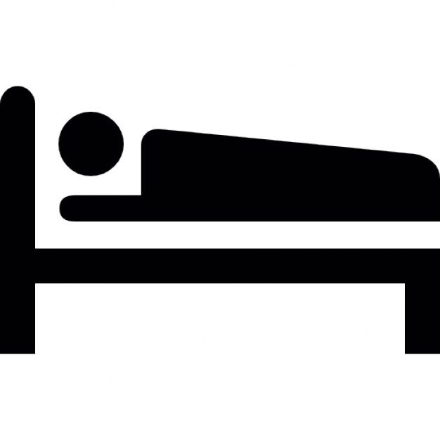 626x626 Person Sleeping On A Bed Icons Free Download