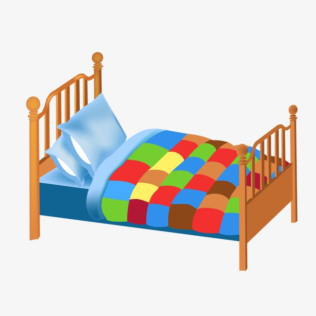 650x650 Vector Wood Bed, Wood Bed, Vector, Bedroom Furniture Png And