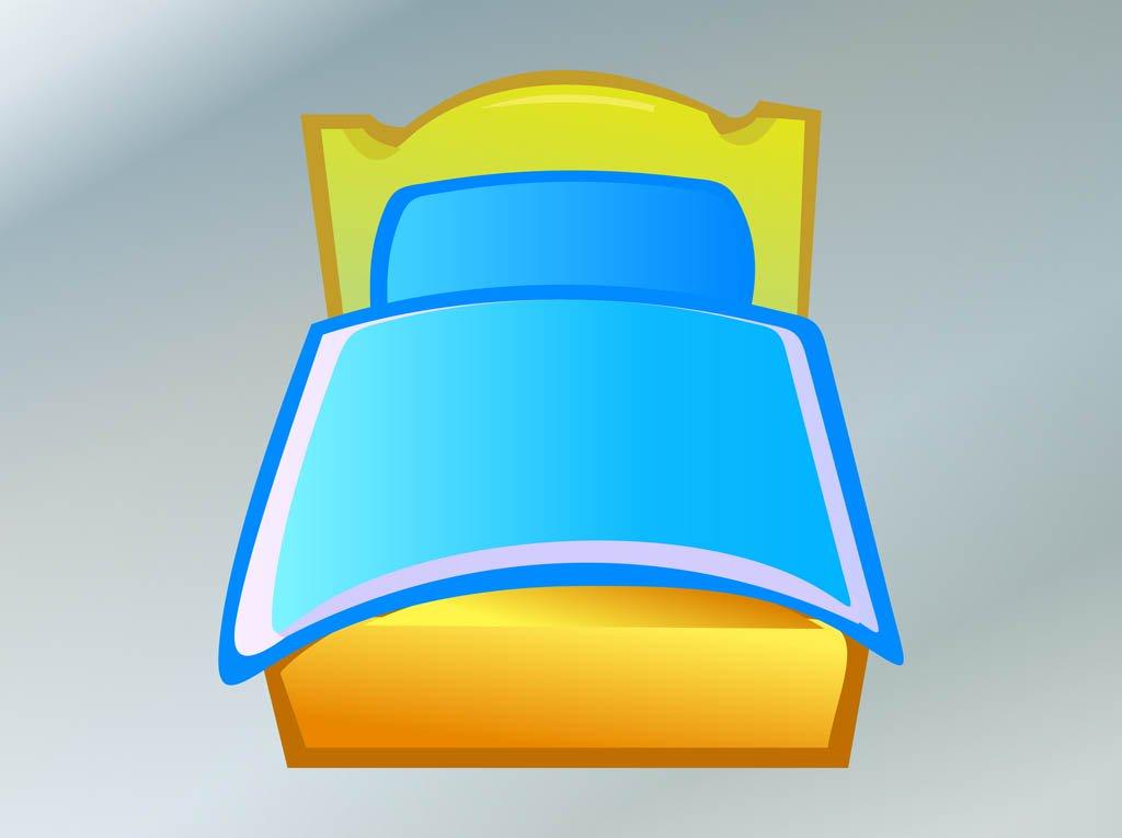 1024x765 Bed Vector Vector Art Amp Graphics