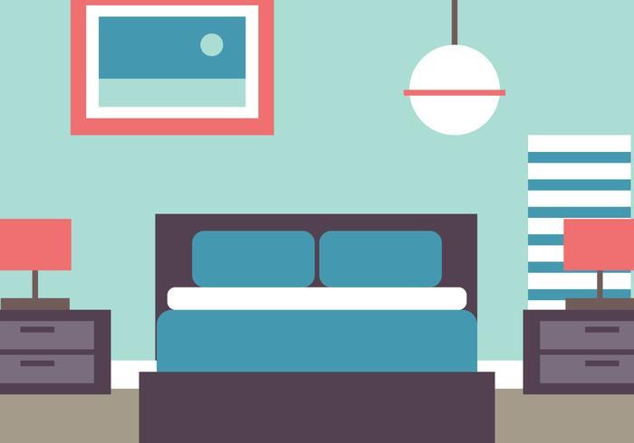 700x490 Flat Style Bedroom