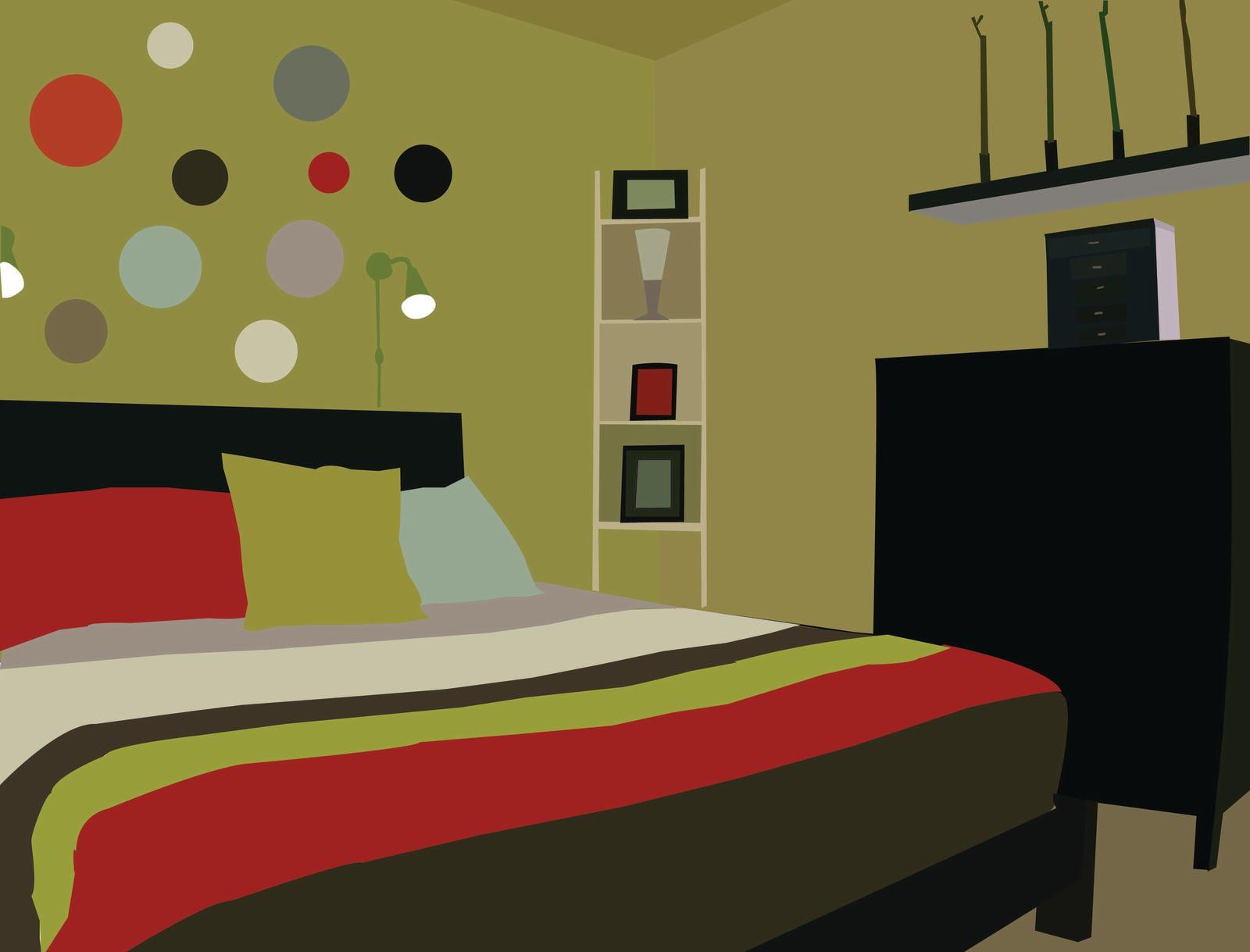 1600x1219 Bedroom Vector