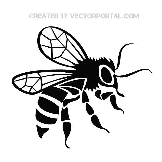 Bee Vector Art