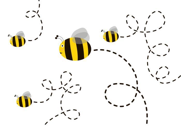 700x490 Free Cute Bee Vector