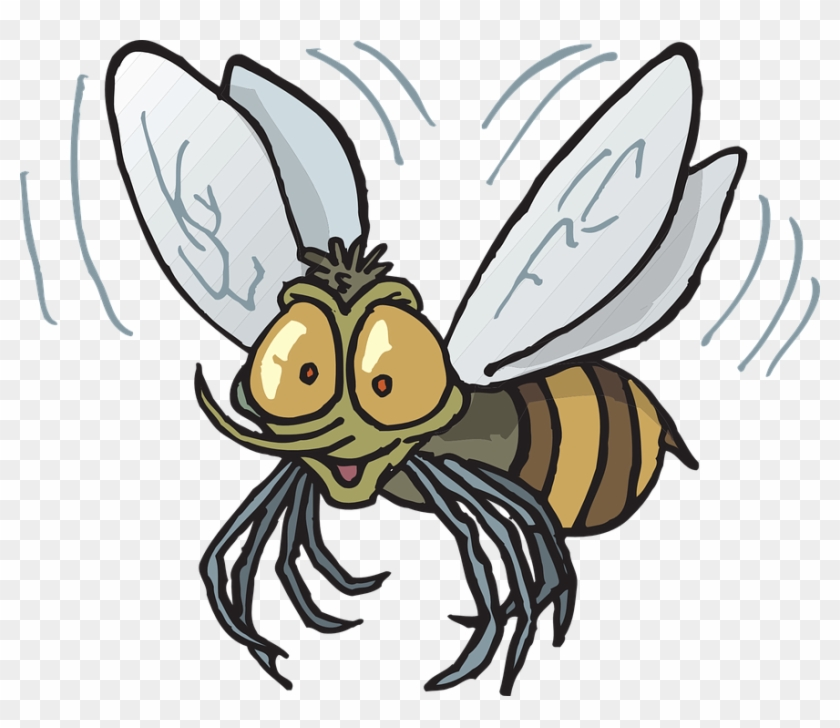 840x728 Image Of Flying Bee Clipart Fly Bee Vector Clip Art