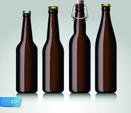 428x368 Beer Bottle Free Vector Download (1,619 Free Vector) For