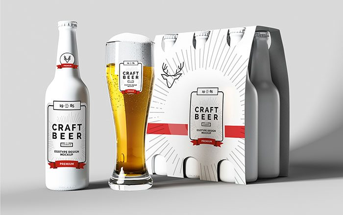 700x438 Best Beer Bottle Mockups (Psd, Vector) Free Amp Premium Download
