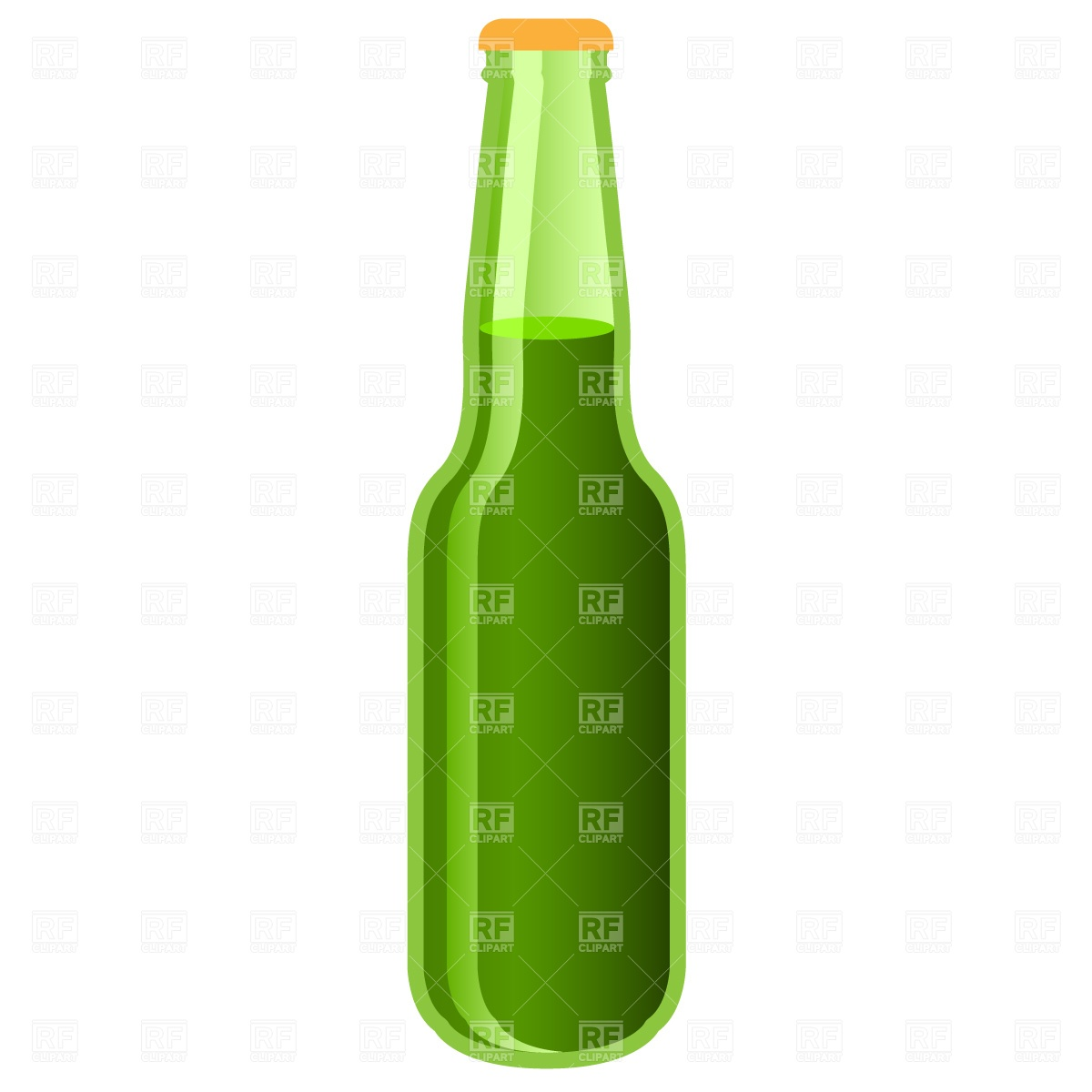 1200x1200 Green Beer Bottle Free Vector Image Vector Artwork Of Food And