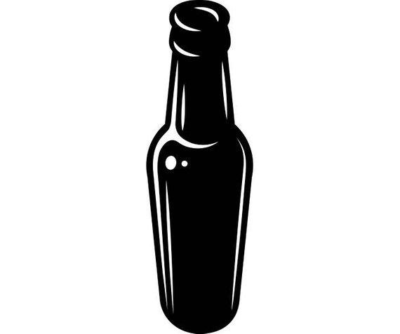 570x476 Beer Bottle Vector