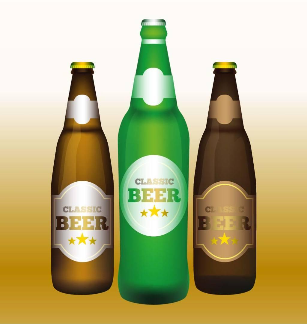 1024x1079 Beer Bottle Vector Template Download Free Download Eps Files