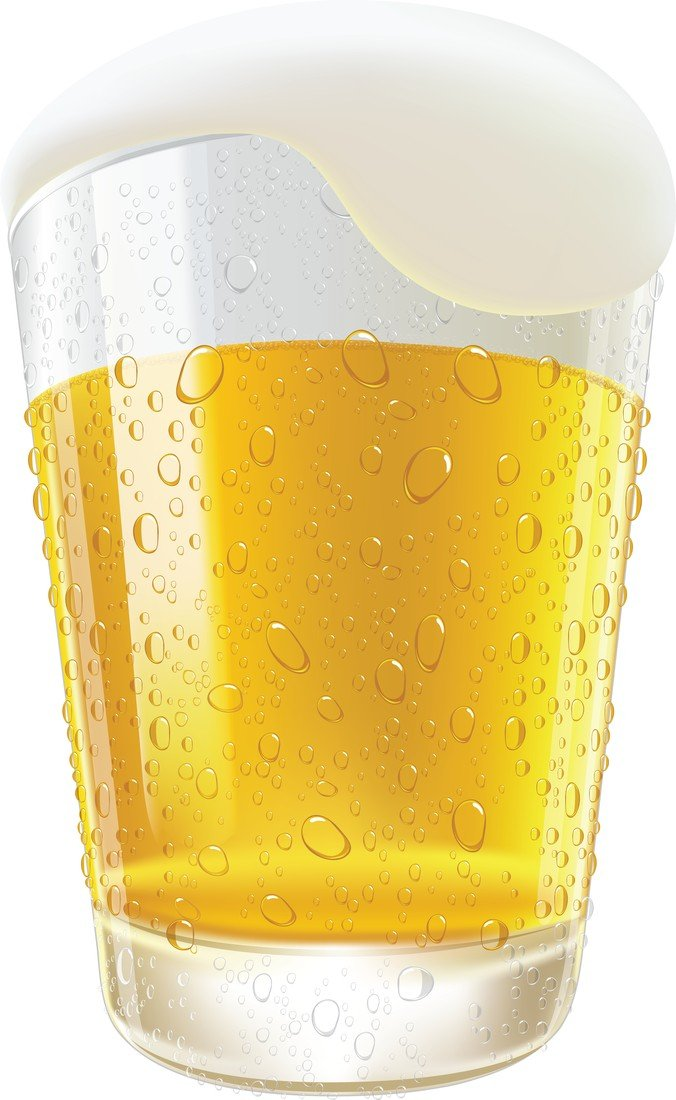 676x1100 Free Lifelike Beer Glasses And Beer Bubbles Psd Files, Vectors