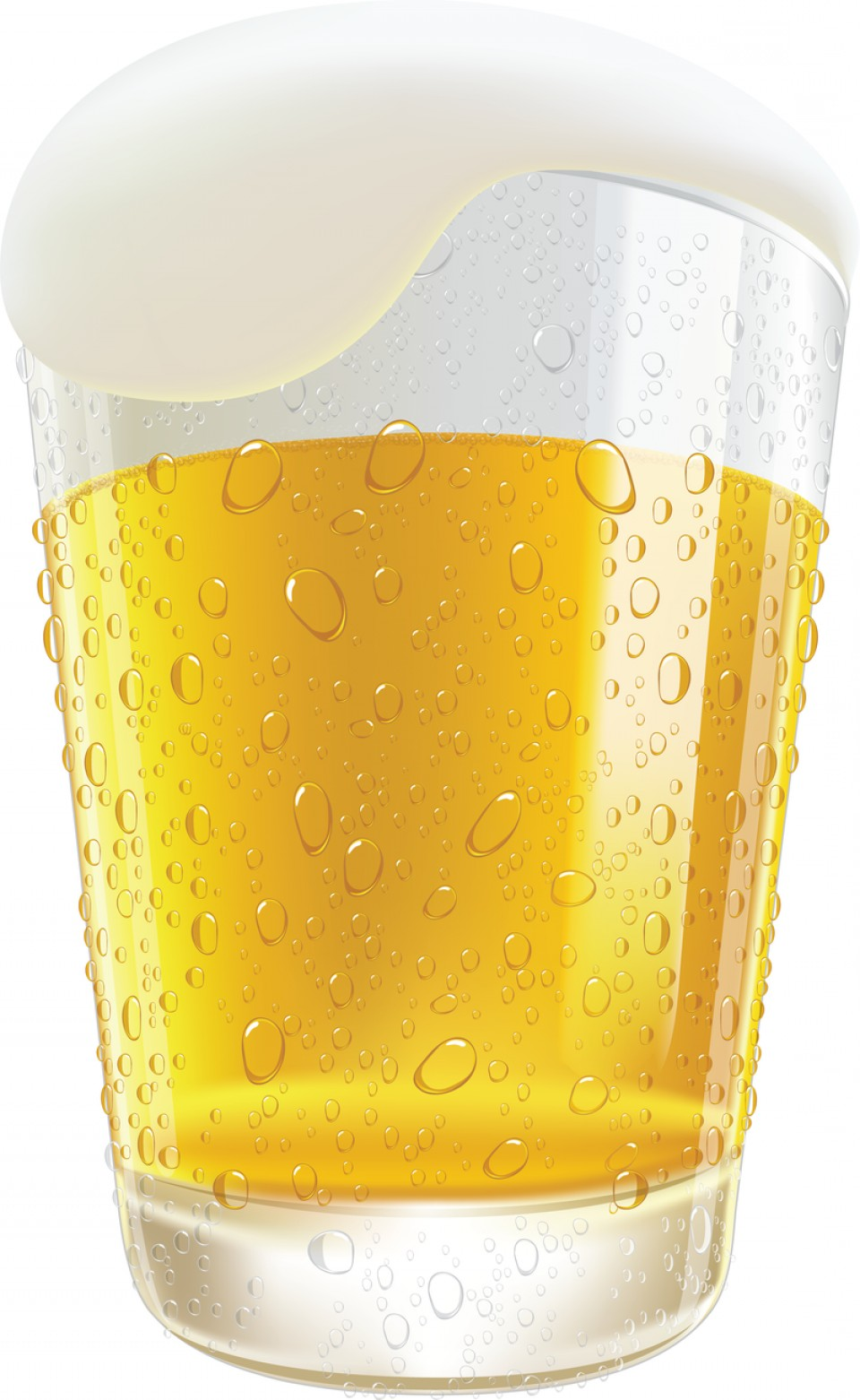960x1562 Lifelike Beer Glasses And Beer Bubbles Vector Graphic Arenawp