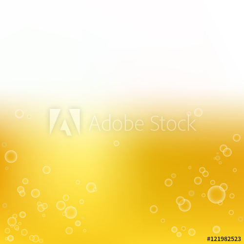 500x500 Smooth Golden Colors With Bubbles, Vector Background For Design