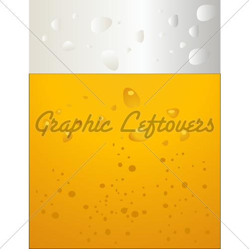 500x500 Beer Bubbles Vector Gl Stock Images