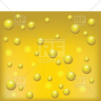 400x400 Beer Background With Bubbles Vector Image Vector Artwork Of