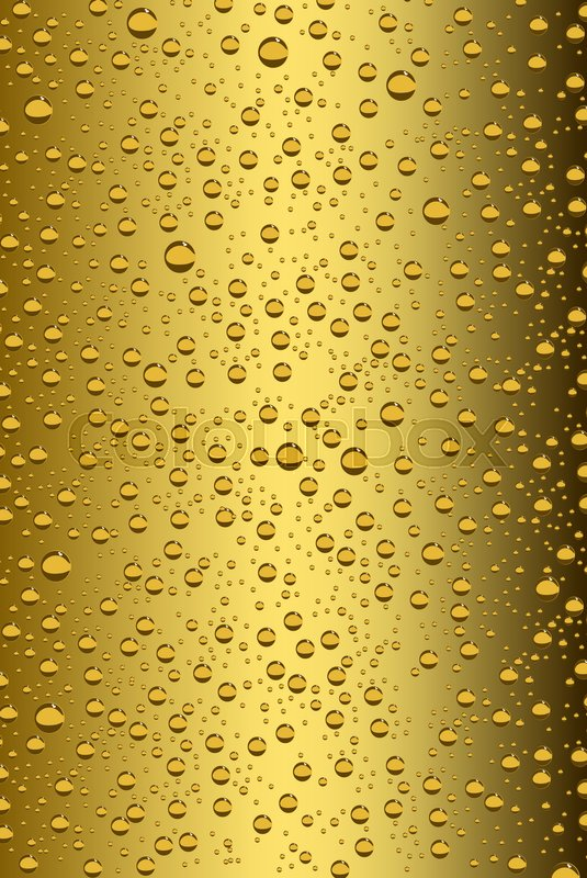 535x800 Beer Bubbles Background, Vector Illustration Stock Vector