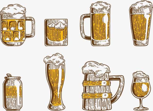 650x472 Beer Drink, Beer, Wine Glass, Beer Can Png And Vector For Free