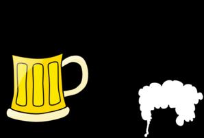 298x201 Foam Clipart Beer Cup