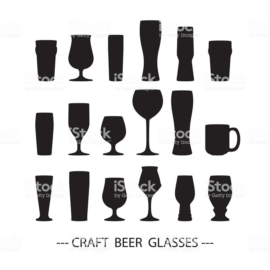 900x900 Download Craft Beer Glass Vector Clipart Beer Glasses Beer,glass