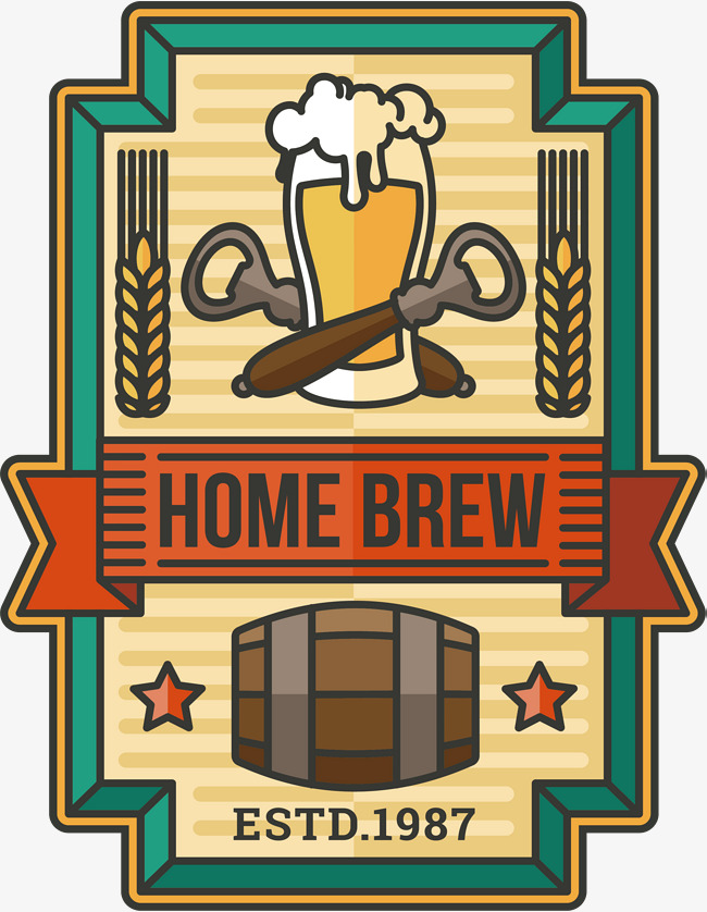 650x838 Handmade Beer Label, Beer Vector, Label Vector, Vector Png Png And
