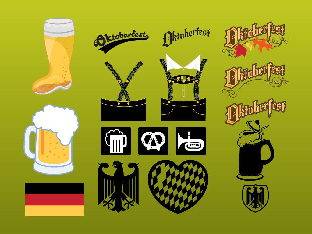 1024x768 Oktoberfest Vectors
